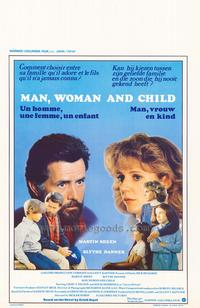 Man, Woman & Child - 27 x 40 Movie Poster - Belgian Style A