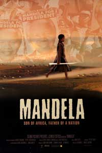 Mandela - 43 x 62 Movie Poster - Bus Shelter Style A