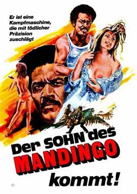 Mandingo - 11 x 17 Movie Poster - German Style A