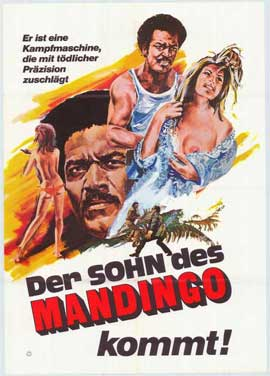 Mandingo - 27 x 40 Movie Poster - German Style A