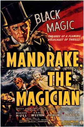 Mandrake the Magician - 11 x 17 Movie Poster - Style A