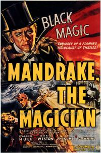 Mandrake the Magician - 43 x 62 Movie Poster - Bus Shelter Style A