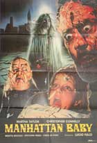 Manhattan Baby - 11 x 17 Movie Poster - Italian Style B