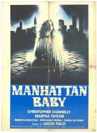 Manhattan Baby - 27 x 40 Movie Poster - Italian Style B