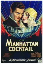 Manhattan Cocktail - 27 x 40 Movie Poster - Style A