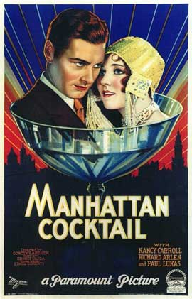 Manhattan Cocktail - 11 x 17 Movie Poster - Style A