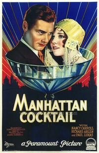 Manhattan Cocktail - 43 x 62 Movie Poster - Bus Shelter Style A