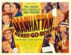 Manhattan Merry-Go-Round - 22 x 28 Movie Poster - Half Sheet Style A