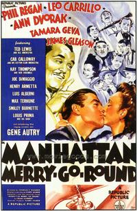 Manhattan Merry-Go-Round - 43 x 62 Movie Poster - Bus Shelter Style A