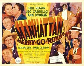 Manhattan Merry-Go-Round - 11 x 14 Movie Poster - Style A