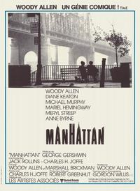Manhattan - 11 x 17 Movie Poster - French Style A