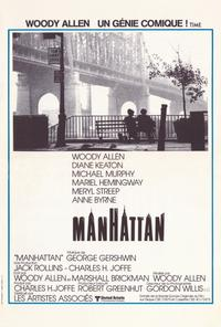 Manhattan - 27 x 40 Movie Poster - French Style A
