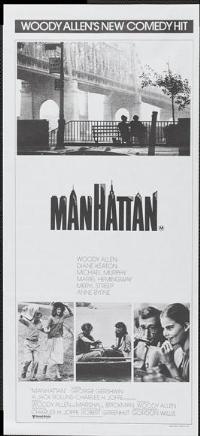 Manhattan - 13 x 30 Movie Poster - Australian Style A