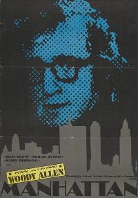 Manhattan - 11 x 17 Movie Poster - Polish Style A