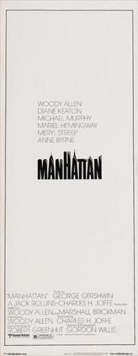 Manhattan - 14 x 36 Movie Poster - Insert Style B
