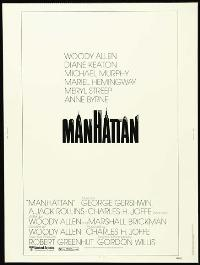 Manhattan - 27 x 40 Movie Poster - Style B