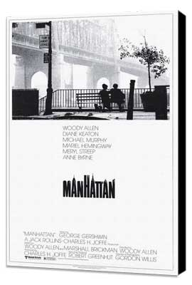 Manhattan - 27 x 40 Movie Poster - Style A - Museum Wrapped Canvas