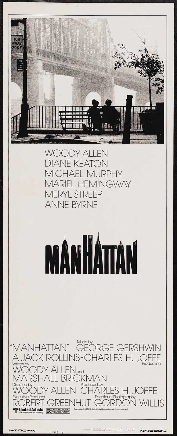 the gallery for gt manhattan woody allen poster