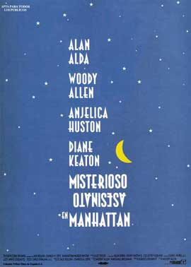 Manhattan Murder Mystery - 11 x 17 Movie Poster - Spanish Style A