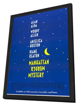 Manhattan Murder Mystery - 11 x 17 Movie Poster - Style A - in Deluxe Wood Frame