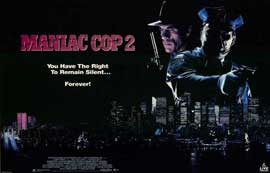 Maniac Cop 2 - 11 x 17 Movie Poster - Style A