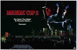 Maniac Cop 2 - 27 x 40 Movie Poster - Style A