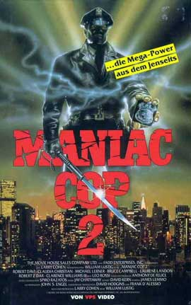 Maniac Cop 2 - 11 x 17 Movie Poster - German Style A