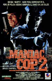 Maniac Cop 2 - 11 x 17 Movie Poster - Spanish Style A