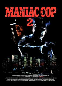 Maniac Cop 2 - 11 x 17 Movie Poster - Style B