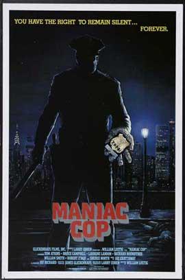 Maniac Cop - 11 x 17 Movie Poster - Style C