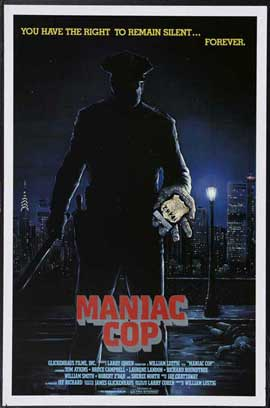 Maniac Cop - 27 x 40 Movie Poster - Style B