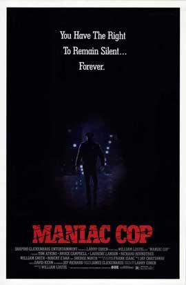 Maniac Cop - 27 x 40 Movie Poster - Style C