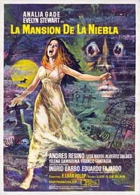 Maniac Mansion - 43 x 62 Movie Poster - Spanish Style A