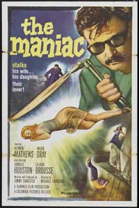 maniac 1963 item gj5698 1 your selected format size product type 11 x