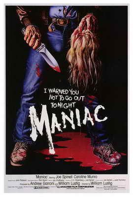 Maniac - 27 x 40 Movie Poster - Style A