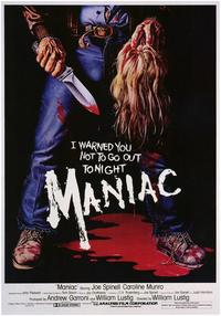Maniac - 43 x 62 Movie Poster - Bus Shelter Style A