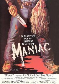 Maniac - 27 x 40 Movie Poster - Spanish Style A