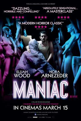 Maniac - 11 x 17 Movie Poster - UK Style A