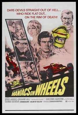 Maniacs on Wheels - 11 x 17 Movie Poster - Style A