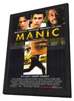 Manic - 11 x 17 Movie Poster - Style A - in Deluxe Wood Frame