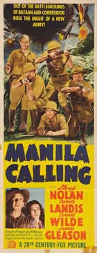 Manila Calling - 14 x 36 Movie Poster - Insert Style A