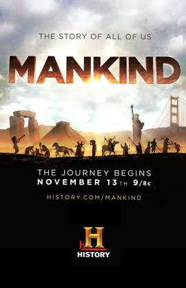 Mankind the Story of All of Us (TV) - 27 x 40 TV Poster - Style A