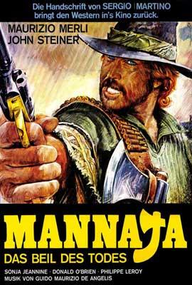 Mannaja - 27 x 40 Movie Poster - German Style A