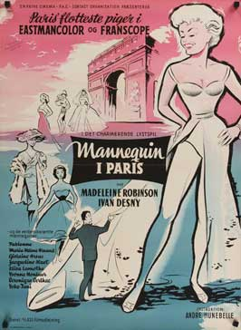 Mannequins of Paris - 27 x 40 Movie Poster - Danish Style A