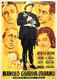 Manolo Guardia Urbano - 11 x 17 Movie Poster - Spanish Style A