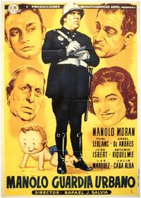 Manolo Guardia Urbano - 27 x 40 Movie Poster - Spanish Style A