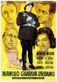 Manolo Guardia Urbano - 43 x 62 Movie Poster - Spanish Style A