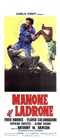 Manone il ladrone - 13 x 28 Movie Poster - Italian Style A