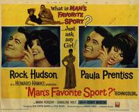 Man's Favorite Sport? - 22 x 28 Movie Poster - Half Sheet Style A