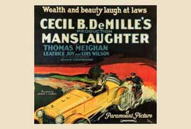 Manslaughter - 27 x 40 Movie Poster - Style A